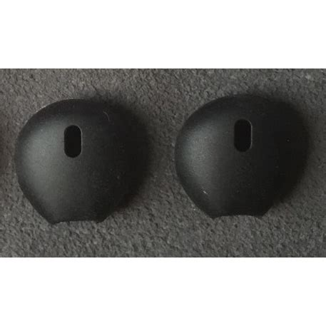 silicon earpad for apple earpod airpod 4 pair black jakartanotebook