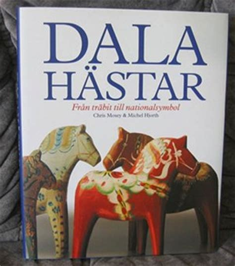 book about dala horses swedish mosey hjort