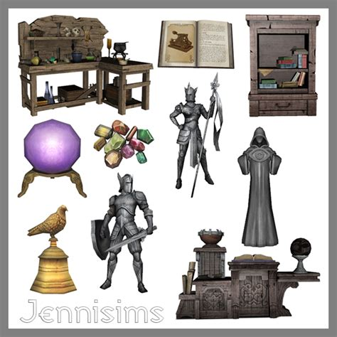 Victorian Gothic Furniture the sims medieval conversions by jennisims teh sims