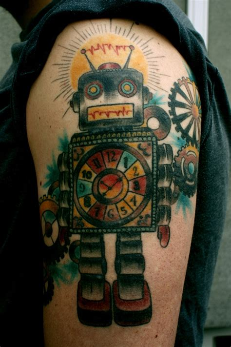 robot tattoo robot tattoos designs ideas and meaning tattoos for you