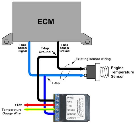 temp switch wiring diagram 28 images coolant temp