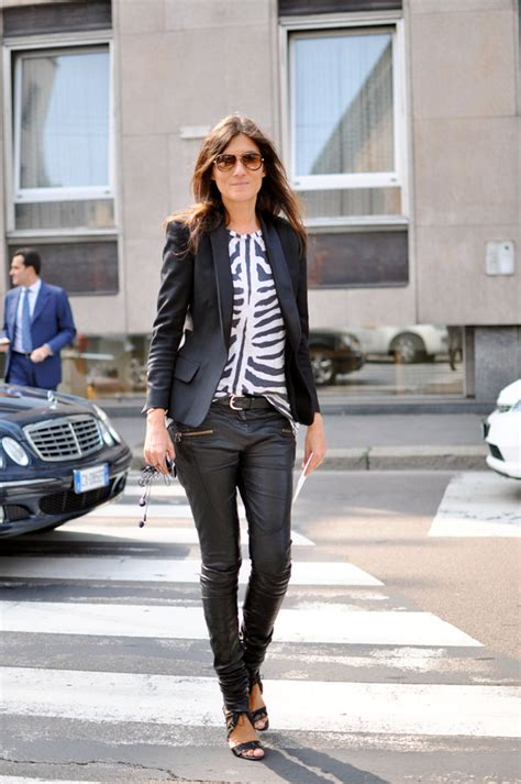 Getting A New Wardrobe by Emmanuelle Alt S Punky Style Romantique And Rebel