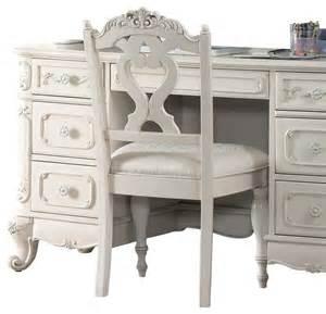 cinderella schreibtisch homelegance cinderella writing desk chair in white