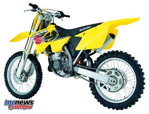 Suzuki Rm 125 2001 Flashback 2001 Suzuki Rm125 Suzuki Rm250 Mcnews Au
