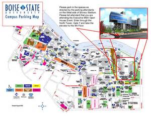 Boise State Map by Boise State University Map Pictures To Pin On Pinterest