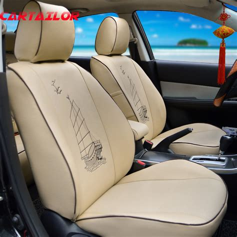 leather seat protector for car seat cartailor car seats for toyota venza seat covers set pu