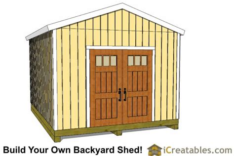 Garden Shed Plans 12x16 by 12x16 Shed Plans Gable Shed Storage Shed Plans