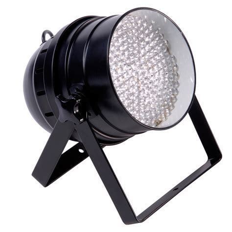 led par can lights ledj par64 led floor par can black at gear4music com
