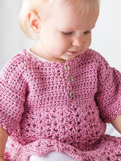 knit and crochet now season 4 free crochet pattern this pink baby dress