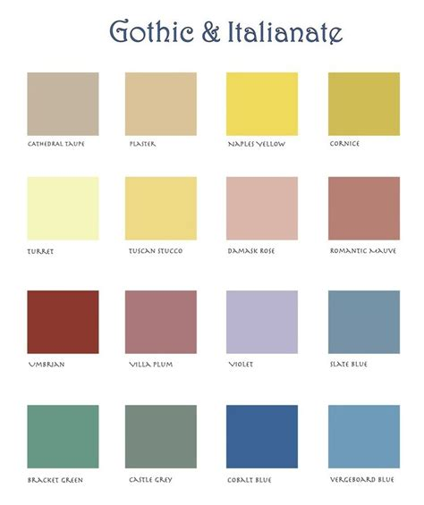 color schemes all 2 color schemes are based off these 15 homestead house paint company toronto ontario canada