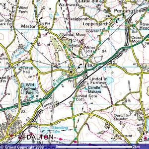 survey maps lindal marton maps streetmaps ordnance survey