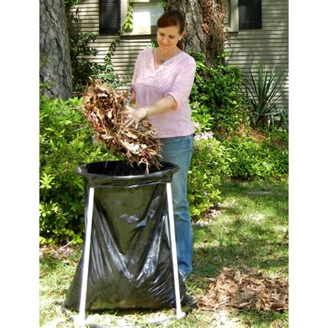 Leaf Bag Holder Stand by The Bag Bud Leaf Bag Holder Free Shipping