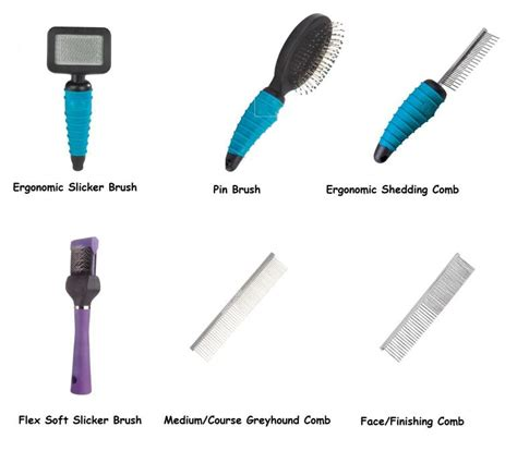 grooming brush professional grooming brushes combs for dogs brush comb groomer tools ebay