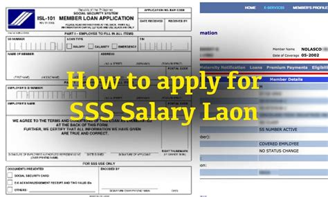 how to apply for a loan for a house step by step guide on how to apply for sss salary loan ofw