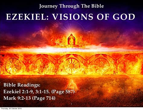 15 to 28 a story of god s power and redemption books journey through the bible ezekiel visions of god