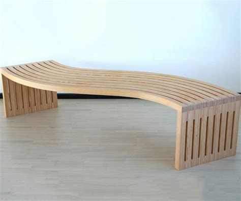 how to make a curved bench diy multi function bench the awesomer