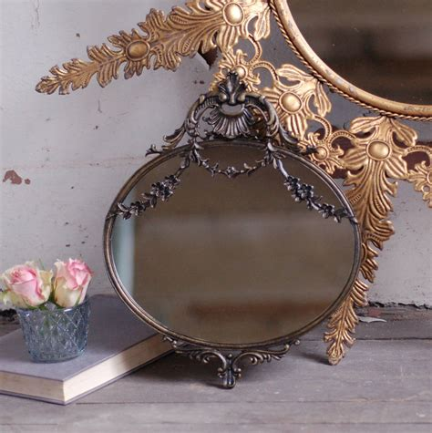 Small Decorative Mirrors by Antique Style Small Decorative Mirror By Made With