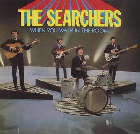 the searchers when you walk in the room the searchers when you walk in the room uk vinyl lp record nspl18617 when you walk in the room