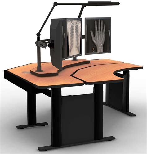 Adjustable Height Corner Computer Desk 911 Dispatch Variable Height Computer Desk