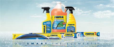rainx blade finder x products