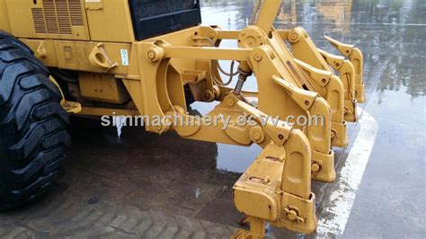 second 140h motor grader with hydraulic engine used