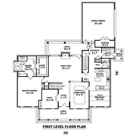 georgian style floor plans georgian house plans home design su b2195 1473 1166 g