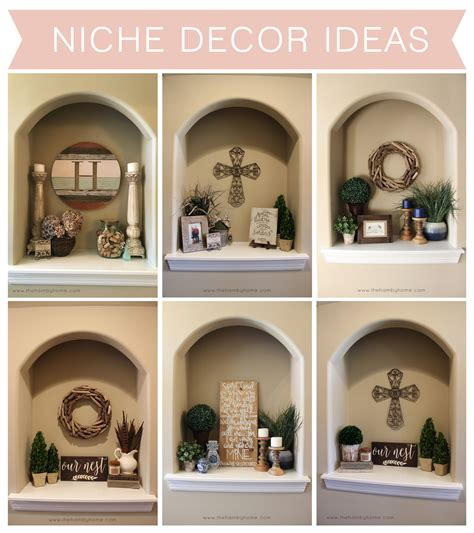 foyer niche decorating ideas niche decor ideas the hamby home