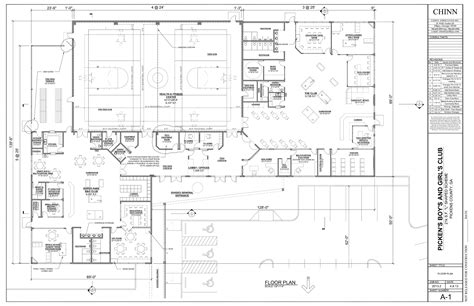 youth center floor plans new youth center boys girls clubs of north georgia