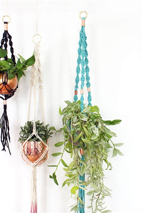 Diy Macrame Plant Hanger - diy macrame planter workshop the sweet escape creative