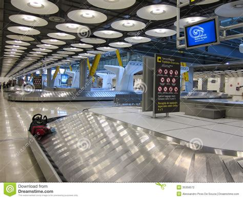 baggage claim fai airport baggage claim area at barajas airport madrid spain