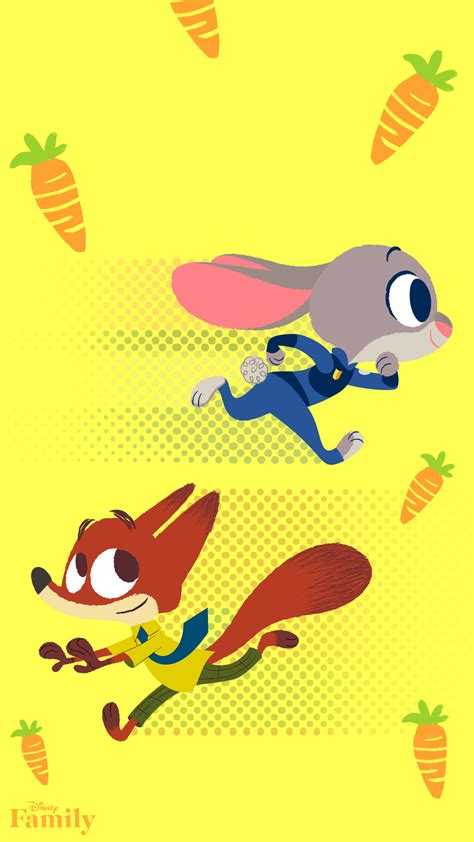 disney zootopia wallpaper celebrate spring with these disney family phone wallpapers