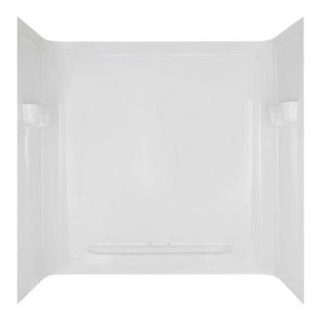 bathtub and wall one piece seamless 32 in x 60 in x 60 in one piece bathtub wall