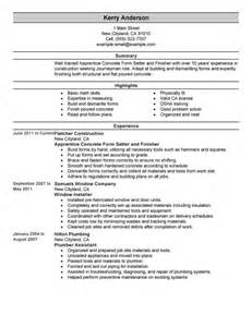 resume sample for electrician helper 2