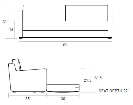 sofa length width height amazing sofa height 8 sofa bed dimensions standard