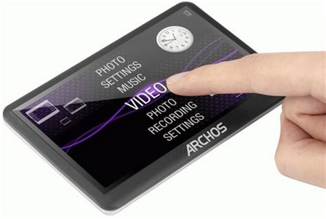 Archos Pmp Thats Portable Media Player To The Uninitiated by Archos Vision A14vg A15vs A18vb A24vb A30vc And A43vb