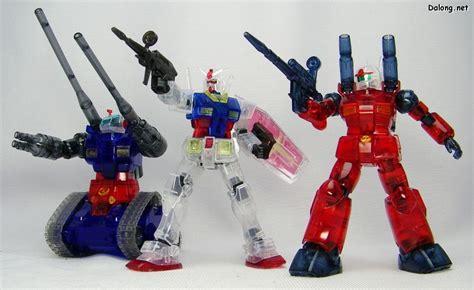 Hguc Rx 77 2 Guncannon hguc rx 77 2 guncannon gundam operation v clear color ver my anime shelf