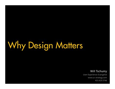 typography matters why design matters