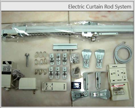electric curtain rod system home theater electric curtain rods