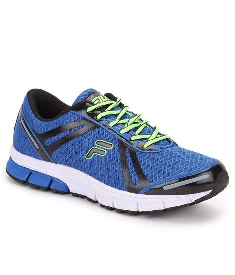 sports plus shoes fila flex run plus blue sports shoes price in india buy