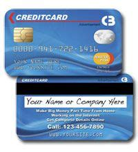 Business Cards That Look Like Credit Cards