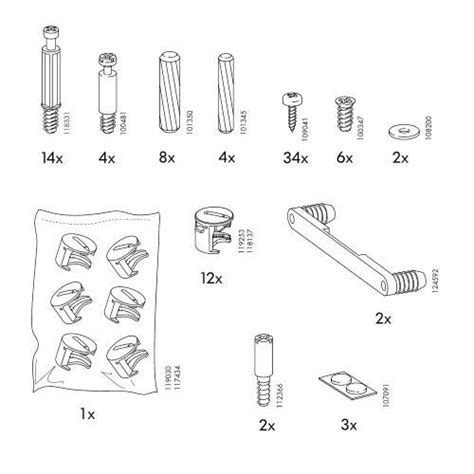 Galant Desk Parts pin galant assembly image search results