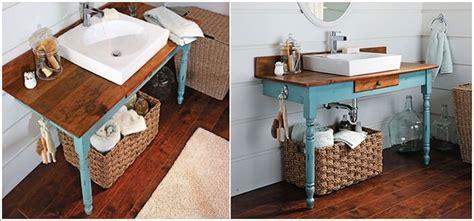 riciclare mobili 12 sorprendenti mobili da bagno con materiale di riciclo