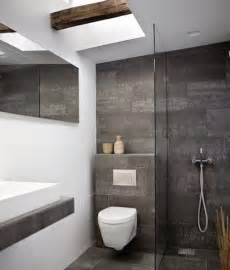 grey and white bathroom tile ideas 20 ideas de decoraci 243 n para ba 241 os modernos peque 241 os 2017
