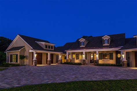 custom home designs the nantucket by konkol custom homes transitional exterior orlando by mjs inc custom