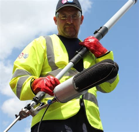 Thames Water Asset Location Search Bat Technology Sounds Out Sewer Problems