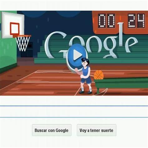 juego de doodle basketball basketball londres 2012 el doodle de actualidad