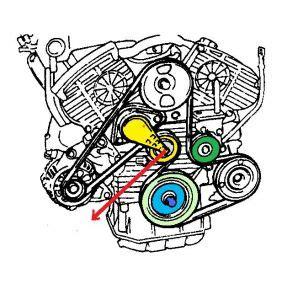 2006 Hyundai Sonata Belt Diagram 2000 Hyundai Sonata Serpentine Belt Engine Mechanical