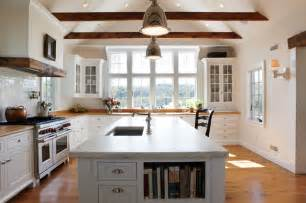 Galley Kitchen Remodeling Ideas Light Farm Kitchen Farmhouse Kitchen Other By