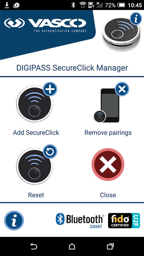 manager vasco digipass secureclick manager android apps on play