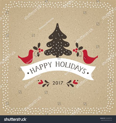 christmas cards shutterstock greeting card typography design stock vector 522696754